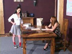 Bare hand, over the knee spanking movies at adipics.com