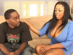 Chubby black chick wants anal from big cock movies at kilosex.com