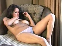 Pretty girl smoking and stripping movies at adipics.com
