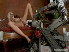 The dildo machines pleasure her body movies at kilotop.com
