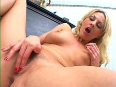 She rubs and fingers her sexy pussy movies at freekilopics.com