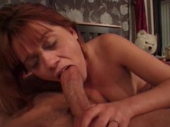 She gives a really slow blowjob movies at very-sexy.com