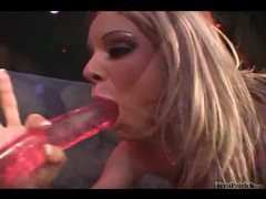 Hot lesbians with tongues and toys go to work videos