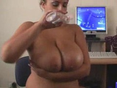 Big oily tits look hot in sultry video movies at kilotop.com