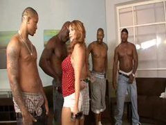 Naughty slut picks her favorite black guy movies at find-best-hardcore.com