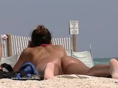 Check out a sexy girl at the beach movies at freekiloclips.com