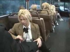 Naughty schoolgirl suck and stroke on the bus movies at dailyadult.info