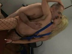 Older guy pounds a sweet young blonde videos