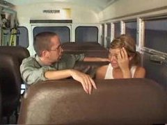 Having sex with a schoolgirl on the bus movies at lingerie-mania.com