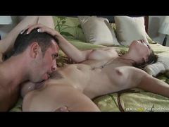 Wife in bed cheating on her husband videos
