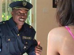 Black cop dude fucks tori black videos