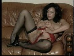 Sultry striptease from big tits milf movies at find-best-mature.com