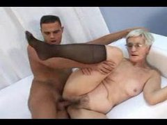 Granny lets him do her from behind movies at very-sexy.com