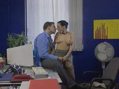 Awesome anal in the office videos