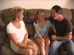 Couple fucks the babysitter lustily videos