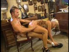 Blonde fucked hard in the antiques shop videos