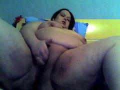 Huge fatty masturbates on her webcam movies at find-best-lingerie.com
