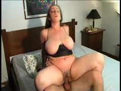 Busty slut likes cock in multiple scenes movies