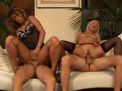 Two guys and two chicks swapping partners movies at find-best-mature.com