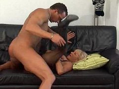 Blonde german mature and her lust for cock videos