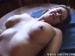 Blonde fucked on her kitchen floor videos
