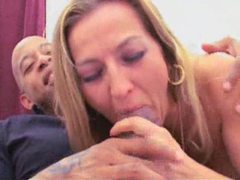 Blonde milf goes home for big black cock videos