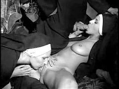 Two nuns have fun with his big cock videos