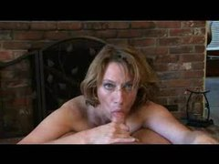 Milf helps him out with pov blowjob and handjob movies at kilopics.net