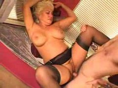 Slutty mature blonde in lingerie craves his dick movies at sgirls.net