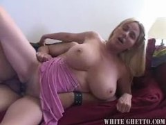 The milf gives him the gift of slutty sex movies