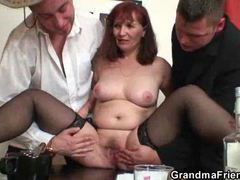 Mature fucked after losing strip poker movies at sgirls.net