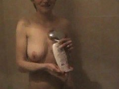Cute girl showering in the nude movies at kilopics.net