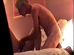Older amateur couple doing fuck video movies at lingerie-mania.com