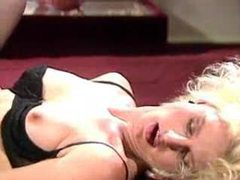 See a blonde boned in the classic porn video movies at lingerie-mania.com