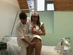 Fucking the naughty nurse in her box videos