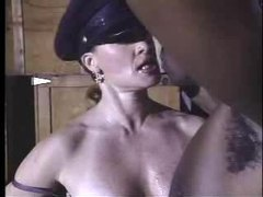 Hot cop chick fucked in a back alley movies at kilosex.com