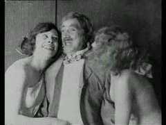 Vintage porn with a little lesbian action videos