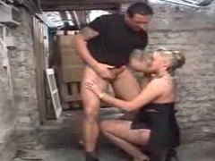 Milf is fucked by a huge dildo and a big cock videos