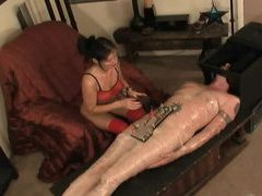 Electro shock pain for the submissive man videos