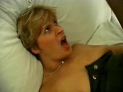 Stockings mom has a craving for big cock videos