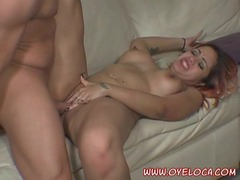 Latina redhead fucked in face and pussy videos