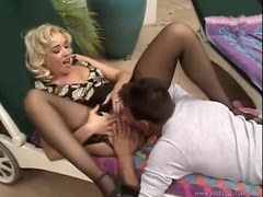 Blonde chick in stockings loves his cock movies at find-best-ass.com