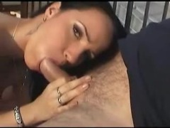 Big tit pornstar sucking him outside movies at sgirls.net