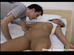 The beautiful sleeping girl is violated videos