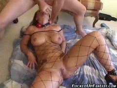 Submissive girl happily takes anal and a face fucking movies at kilopics.net