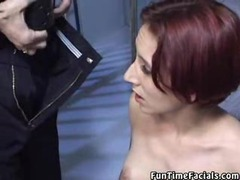Prisoner is made to suck on two dicks at once movies at freekilosex.com