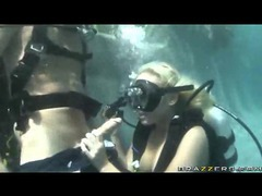 Scuba diving chick is fucked in her wet pussy movies