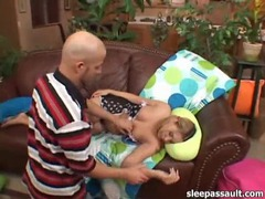 He fucks the sleeping girl with his hard cock videos