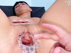 Spreading her pussy lips open to see inside movies at dailyadult.info