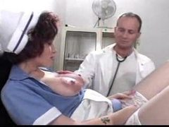 Dude whips out his dick for the nurse movies at dailyadult.info